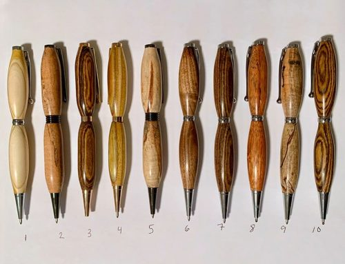 Wood Turned Pens